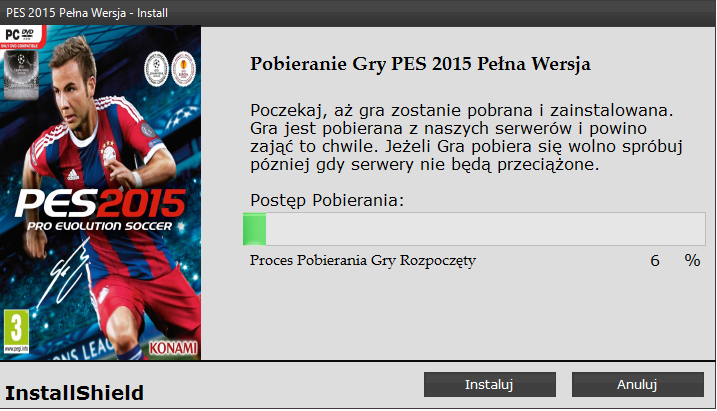 PES 2015 Download Game