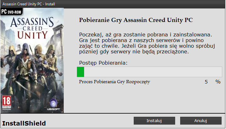 Assasin Creed Unity Download