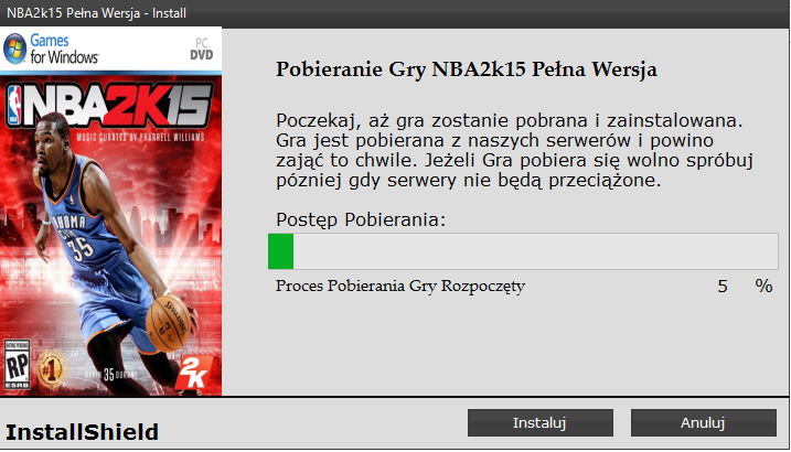 NBA 2k15 Pobierz Reloaded PC
