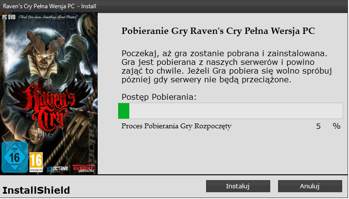 Raven's Cry Download Full Game PC