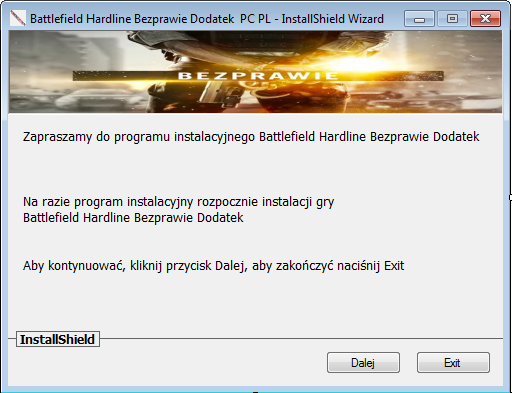 Battlefield Hardline Bezprawie Download DLC