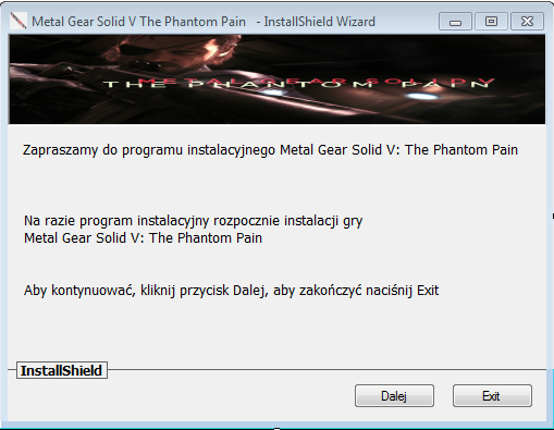 Metal Gear Solid V The Phantom Pain Download Pełna Wersja PC