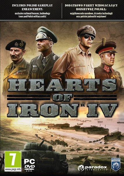 Hearts of Iron IV Download Pełna Wersja PC